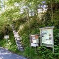 尾高山・奥茶臼山登山口