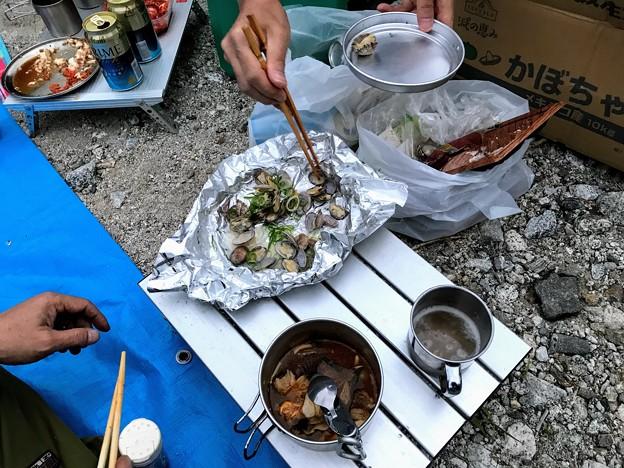 Photos: あさりの酒蒸し