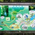 矢筈公園の周辺図