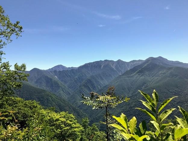 しらびそ峠からの眺望