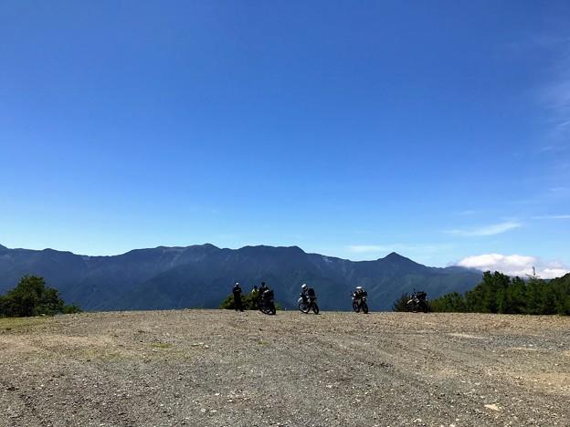 Photos: 御池山隕石クレータ跡地
