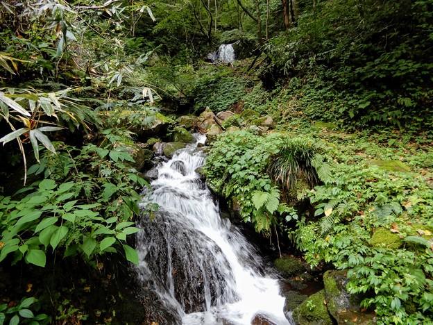 荿平谷滝(二段滝)