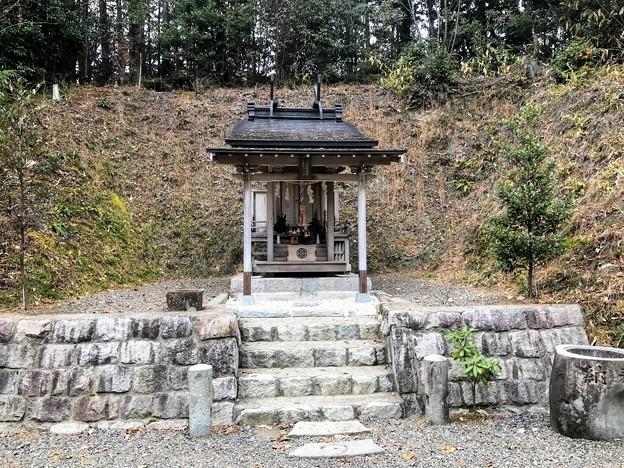 サムハラ神社 奥の院 拝殿