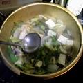 牡蠣とあんこうのお鍋