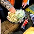Photos: 山之口キャンプ場でのキャンプ飯 餃子