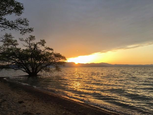 南三ツ谷公園からの夕日
