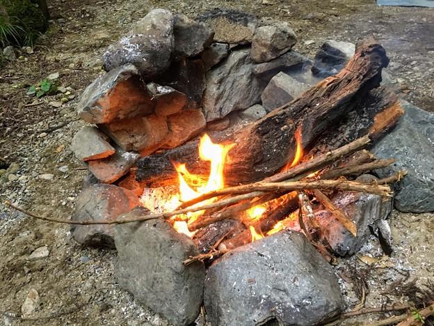 火遊び開始