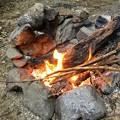Photos: 火遊び開始