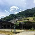 Photos: 神子畑選鉱場跡のシックナー