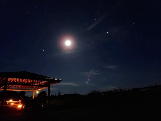 野営地の夜