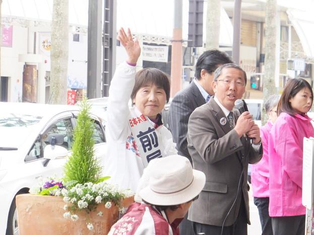 県議選スタート (6)
