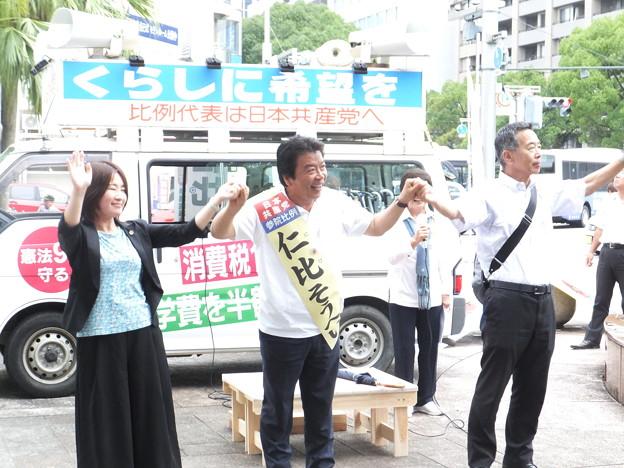 仁比聡平演説 (8)