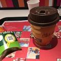 写真: マクドでコーヒー