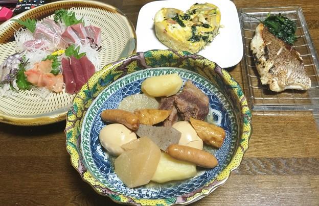 Photos: 父さんのバレンタインの晩ご飯