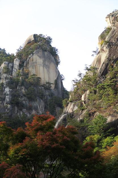 秋の昇仙峡1