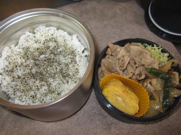 生姜焼き弁当 20Feb.Tue.