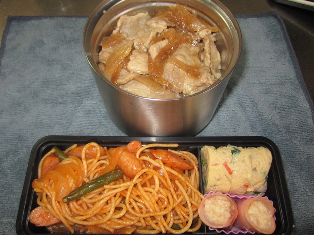 豚丼弁当 29May Tue.