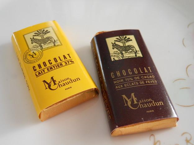 フランスのチョコレート「ミッシェル・ショーダン」2