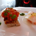 ANA*ビジネスクラスの機内食2