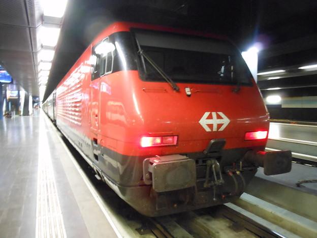 スイスの鉄道