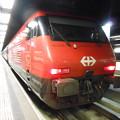写真: スイスの鉄道