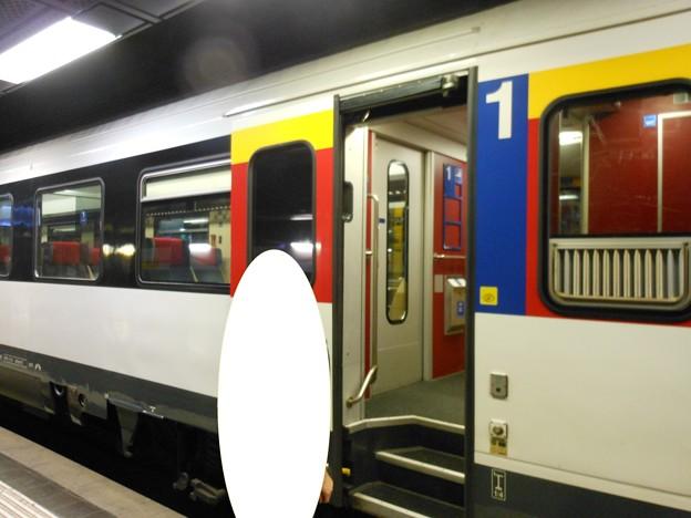 スイスの鉄道・一等車1