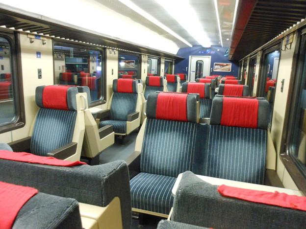スイスの鉄道・一等車2