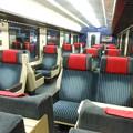 写真: スイスの鉄道・一等車2