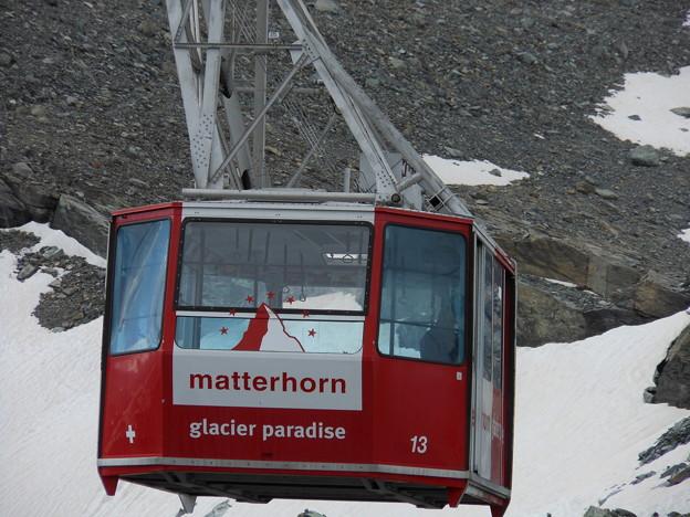 スイス ツエルマット マッターホルン・グレシャー・パラダイス