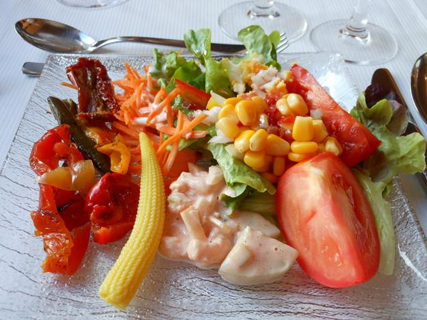 スイス・3100クルムホテル・ゴルナーグラート夕食2