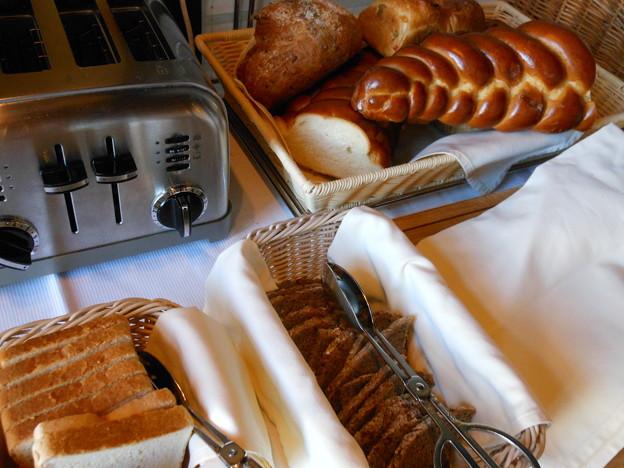 スイス 3100クルムホテルゴルナーグラート 朝食1
