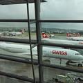写真: スイス・チューリッヒ空港*スイスエアー