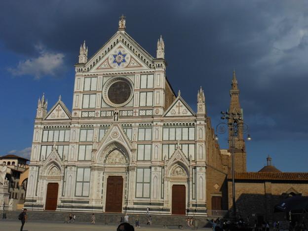 イタリア・フィレンツェ*サンタ・クローチェ教会