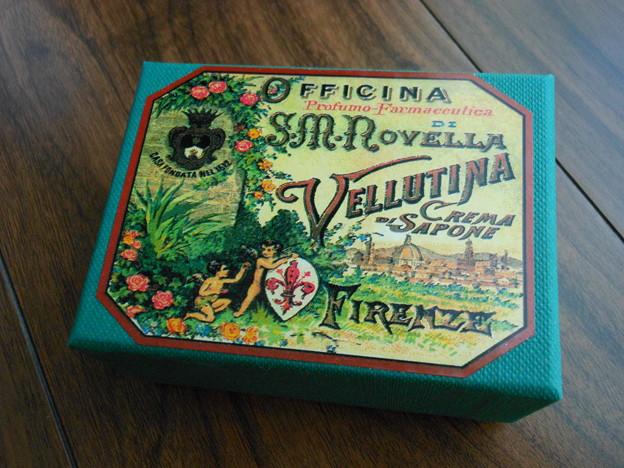 フィレンツェ*サンタ・マリア・ノヴェッラ薬局の石鹸2