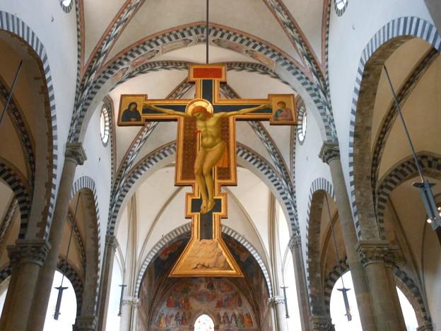 イタリア フィレンツェ サンタ・マリア・ノヴェッラ教会2