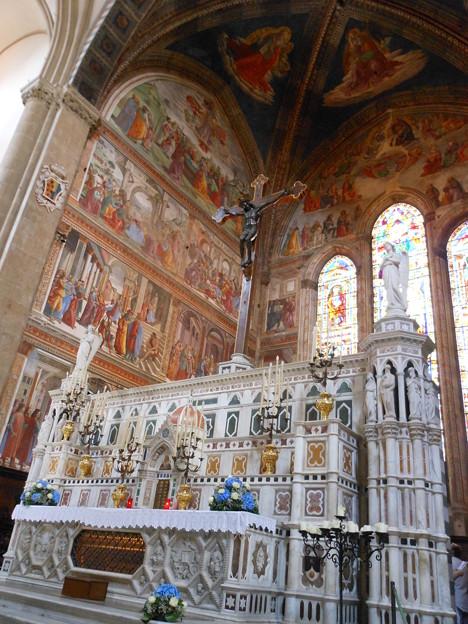 イタリア フィレンツェ サンタ・マリア・ノヴェッラ教会3