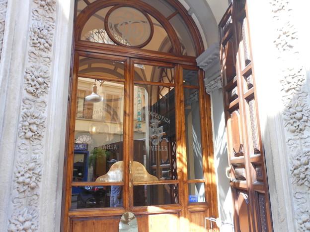 イタリア フィレンツェ サンタ・マリア・ノヴェッラ薬局1