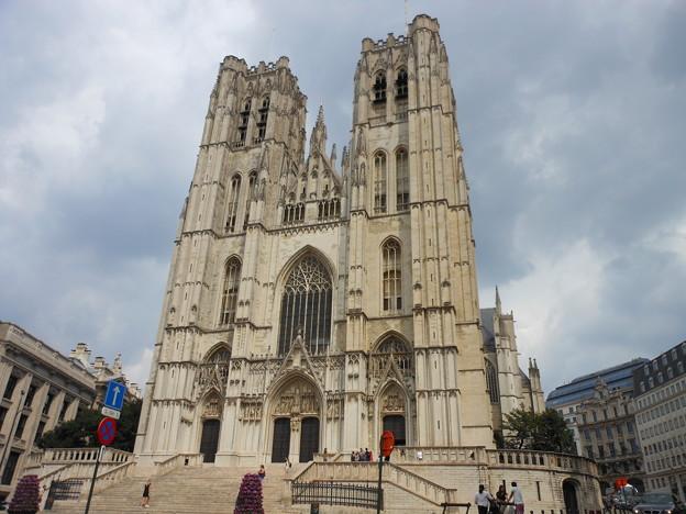ブッリュセル*サンミッシェル大聖堂