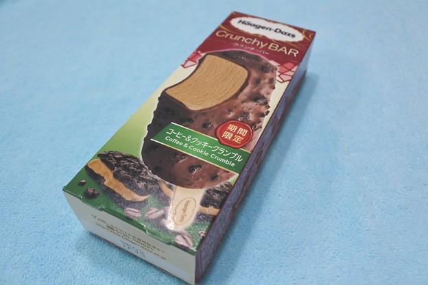 ハーゲンダッツ*クランチバー・コーヒー&クッキークランブル1