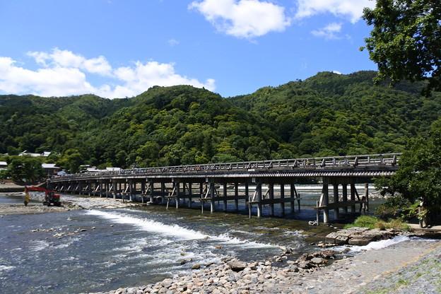 京都・嵐山*渡月橋