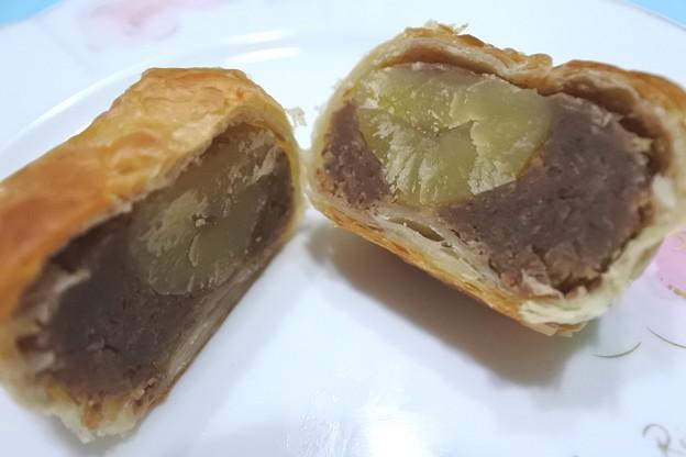小布施*桜井甘精堂・栗の木テラスのマロンパイ3