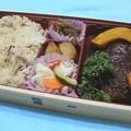 Photos: つばめグリル*きのこご飯ハンバーグ弁当2