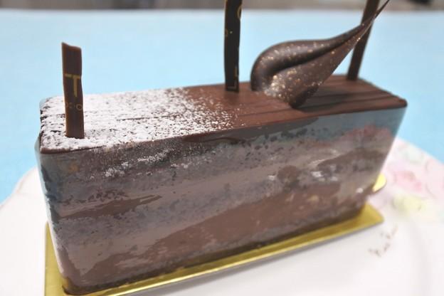パレドオール(新丸ビル)のチョコレートケーキ3