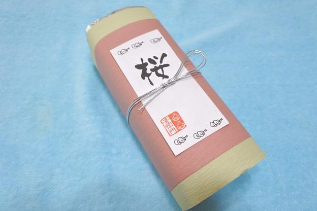 足立音衛門*桜のパウンドケーキ1