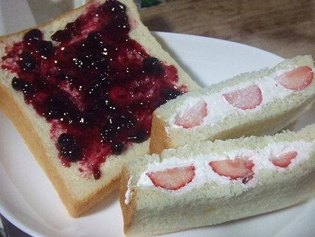 昨日の朝食♪