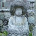 アフロヘアーの阿弥陀仏像@金戒光明寺