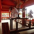 祓い所で身を清める@厳島神社