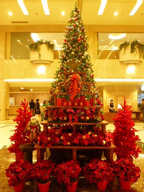 ホテルグランヴィア広島のクリスマスツリー