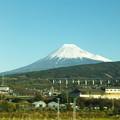 Photos: 青空と冠雪富士