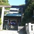 写真: 東京大神宮 鳥居